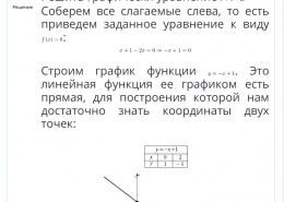Как решить уравнение графически?