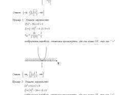 Как решить квадратное неравенство