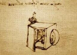 Чертеж какого прибора создал леонардо?