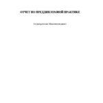 Отчет по преддипломной практики по банковскому делу