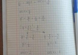 Не могу никак сообразить как решить уравнение  2cos^2x+cosx=1
