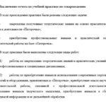 Заключение отчета по учебной практике по товароведению