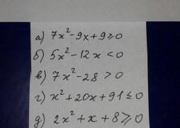 Решение квадратных уравнений 9класс Алгебра , номера легкие