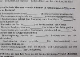 Помогите пожалуйста по немецкому